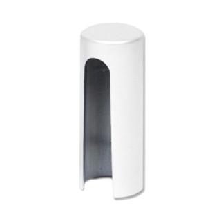 Διακοσμητικό Καπάκι για Μεντεσέ πόρτας βιδωτό AGB 3D Λευκό 1 Τεμ.