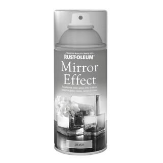 Χρώμα σε Σπρέι για την δημιουργία εφέ Καθρέφτη σε Ασημί Rust-Oleum Mirror Effect 150ml
