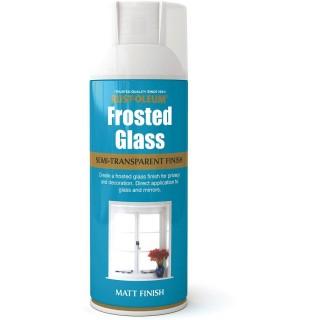 Χρώμα σε Σπρέι για την δημιουργία εφέ Αμμοβολής σε ΤζάμιRust-Oleum Frosted Glass 400ml
