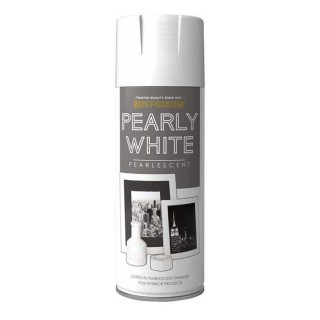 Χρώμα Μεταλλικό Πέρλα Pearly White Pearlescent Rust-Oleum 400ml