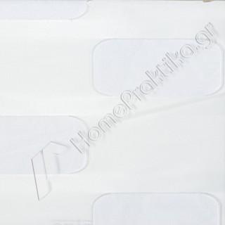 Ρόλερ - Roller 3D Collection stadium 01 Λευκό για Χειροκίνητο ή Ηλεκτροκίνητο μηχανισμό