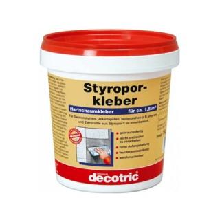Έτοιμη κόλλα εσωτερικής χρήσης για πλάκες πολυστερίνης 1Kg DECOTRIC