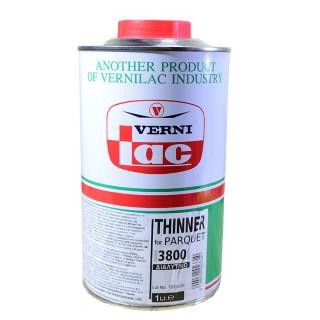 Διαλυτικό για Βερνίκια Παρκέ 3800 1lt Vernilac