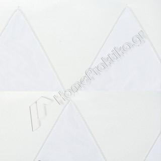 Ρόλερ - Roller 3D Collection Top 01 Λευκό για Χειροκίνητο ή Ηλεκτροκίνητο μηχανισμό