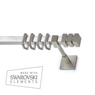 Κουρτινόξυλο Ανάρτηση Τ20 Kythnos με Κρύσταλλο Swarovski