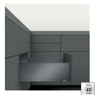 Μεταλλικό συρτάρι BLUM Legrabox -C- 19.3cm Βάθος 50cm σε χρώμα Ανθρακί