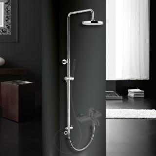 Κολώνα σταθερού ύψους με εκτροπέα, για σύνδεση με μπαταρία μπάνιου ή ντούζ Eurorama 51404R