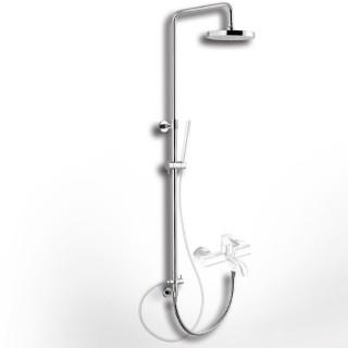 Κολώνα ρυθμιζόμενου ύψους με εκτροπέα, για σύνδεση με μπαταρία μπάνιου ή ντούζ Eurorama 51400R