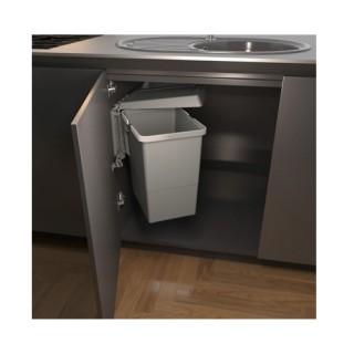 Ανοιγόμενος Πλαστικός Κάδος Απορριμάτων Κουζίνας  Elletipi Swing 2.0 18L