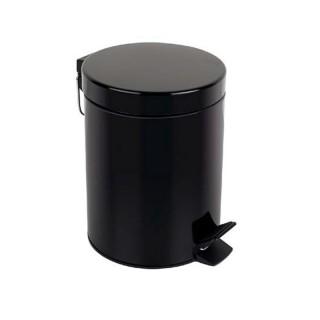 Χαρτοδοχείο μπάνιου 5 Ltr 187031 μαύρο