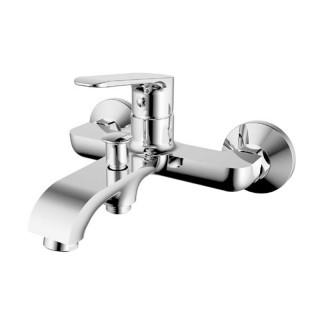 Μπαταρία μπάνιου με σετ ντούς Χρώμιο 086693