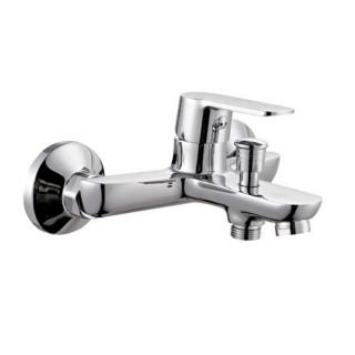 Μπαταρία μπάνιου με σετ ντούς Χρώμιο 086700