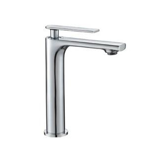 Μπαταρία μπάνιου νιπτήρα ψηλή 23cm Χρώμιο 086792