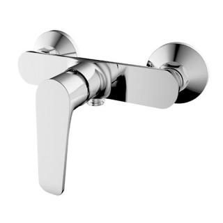 Μπαταρία μπάνιου με σετ ντούς Χρώμιο 086694