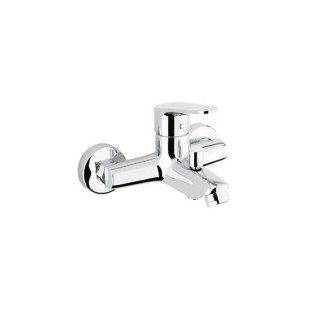 Μπαταρία μπάνιου με σετ ντους Χρώμιο 085939