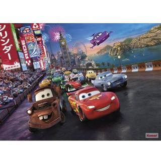 Φωτοταπετσαρία τοίχου Komar 4-401 McQueen Cars Race 2.54 cm x 1.84 cm