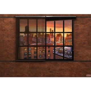 Φωτοταπετσαρία τοίχου Komar 8-882 Brooklyn Brick 3.68 cm x 2.54 cm
