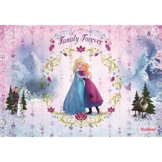 Φωτοταπετσαρία τοίχου Komar 8-479 Frozen Family Forever 3.68 cm x 2.54 cm