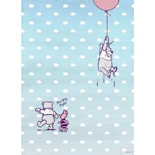 Φωτοταπετσαρία τοίχου Komar 4-4025 Winnie Pooh Piglet 1.84 cm x 2.54 cm