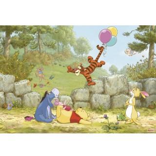 Φωτοταπετσαρία τοίχου Komar 8-460 Winnie Pooh Ballooning 3.68 cm x  2.54 cm
