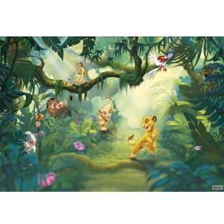 Φωτοταπετσαρία τοίχου Komar 8-475 Lion King Jungle 3.68 cm x 2.54 cm