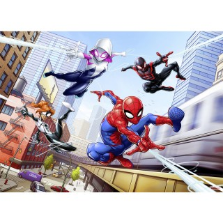 Φωτοταπετσαρία τοίχου Komar 4-4027 Spider-Man Friendly Neighbours 2.54 cm x  1.84 cm