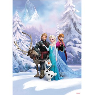 Φωτοταπετσαρία τοίχου Komar 8-498 Frozen Winter Land 1.84 cm x 2.54 cm
