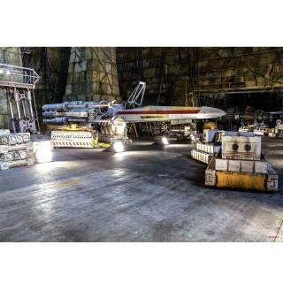 Φωτοταπετσαρία τοίχου Komar 8-4000 STAR WARS Rebel Base 3.68 cm x 2.54 cm