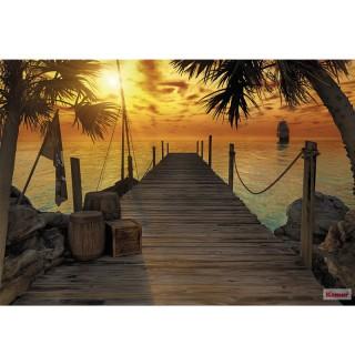 Φωτοταπετσαρία τοίχου Komar 8-918 Treasure Island 3.68 cm x 2.54 cm