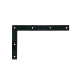 Διακοσμητική Γωνία Ζωγομετάλ Σειρά 0169-01 σε χρώμα Μαύρο