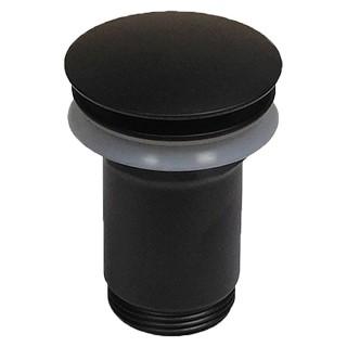 Βαλβίδα νιπτήρος clic-clac R0323 black matt