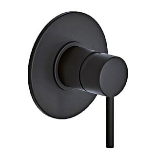 Μίκτης εντοιχισμού Eurorama Tonda 145055-400 black matt