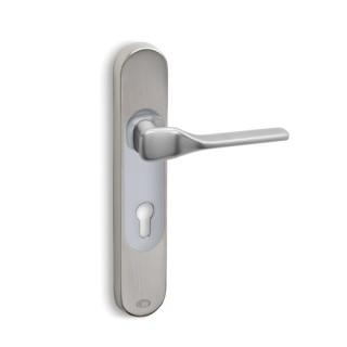 Πόμολα πόρτας Convex χειρολαβή με στρογγυλή πλάκα 2235