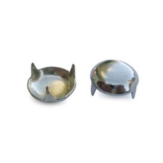 Καλύµατα βιδών (Πατίνια) Σιδερένια ∅13 Νίκελ 007/13 συσκ. 1000 τεμ.