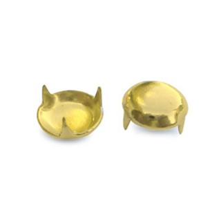 Καλύµατα βιδών (Πατίνια) Σιδερένια ∅13 Χρυσό 007/13 συσκ. 1000 τεμ.