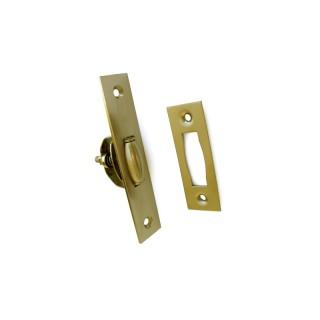Σούστα πόρτας με βαρελάκι ορειχάλκινο Ματ 079-3010