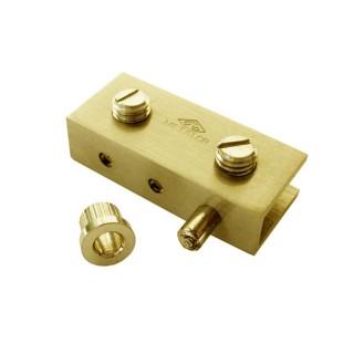 Μεντεσέδες Κρυστάλλων Ορειχάλκινοι σε Χρυσό 304-3245