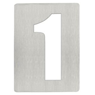 Αριθμός 1 8cm Ανοξείδωτος