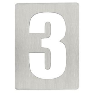 Αριθμός 3 8cm Ανοξείδωτος