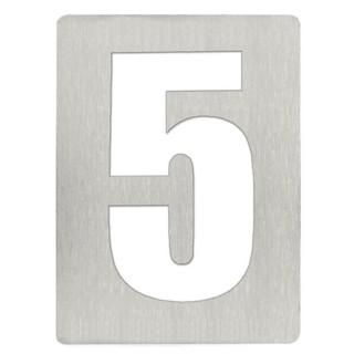 Αριθμός 5 8cm Ανοξείδωτος