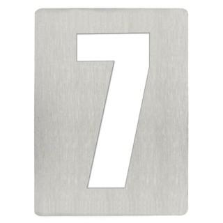 Αριθμός 7 8cm Ανοξείδωτος