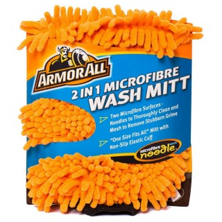 Σφουγγάρι - Γάντι Πλυσίματος Μικροϊνών 2 Σε 1 Armor All  6.48 x 12.01 x 25.45 cm 040005100