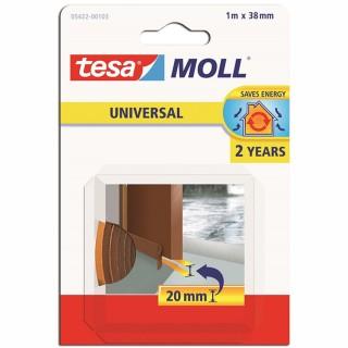 Αφρώδες Μονωτικό Υλικό για το κάτω μέρος πόρτας UNIVERSAL 20mm Καφέ tesamoll® 05422