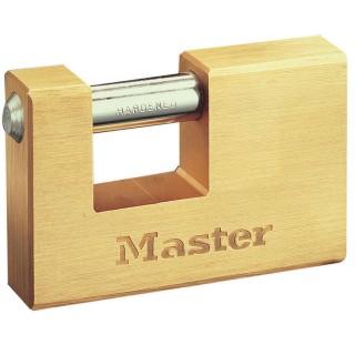 Λουκέτο Τάκος απο συμπαγή μπρούτζο 85mm με ατσάλινο λαιμό Master Lock 608EURD