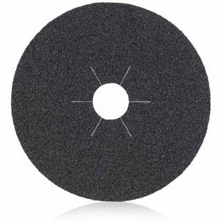 Λειαντικοί Δίσκοι ινών Φιμπερ Ø115mm Μαυροι για λείανση μετάλλων  (σε 9 διαφορετικά είδη Κοκκομετρίας) Smirdex930