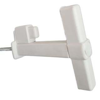Ανεμοστήριγμα Πατζουριού Πλαστικό Λευκό 00100