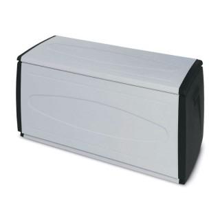 Μπαούλο πλαστικό PrinceBlack120 max 308Lt  54cm x 120cm x 57cm Italy