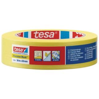 Χαρτοταινία μασκαρίσματος Ακριβείας με εξαιρετικά λεπτό και ανθεκτικό χαρτί πλάτους 30 χιλιοστών 50 μέτρα tesa ®