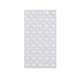 Αποσβεστήρες κρούσεων Αυτοκόλλητα Στρογγυλά Ø10 X 1,5mm 50 τεμ Emuca 8171020