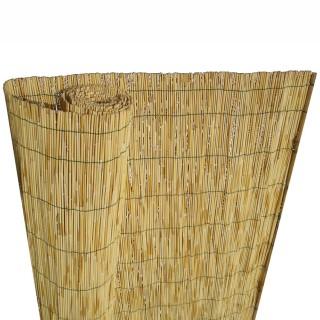 Καλαμωτή Σκίασης - Περίφραξης Υψηλής αντοχής με σύρμα 1m Ύψος x 3m μήκος